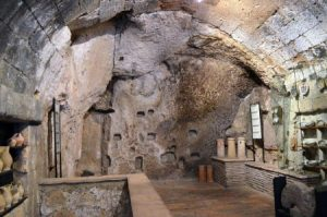 3. Orvieto, Unterwelt im Tuffstein